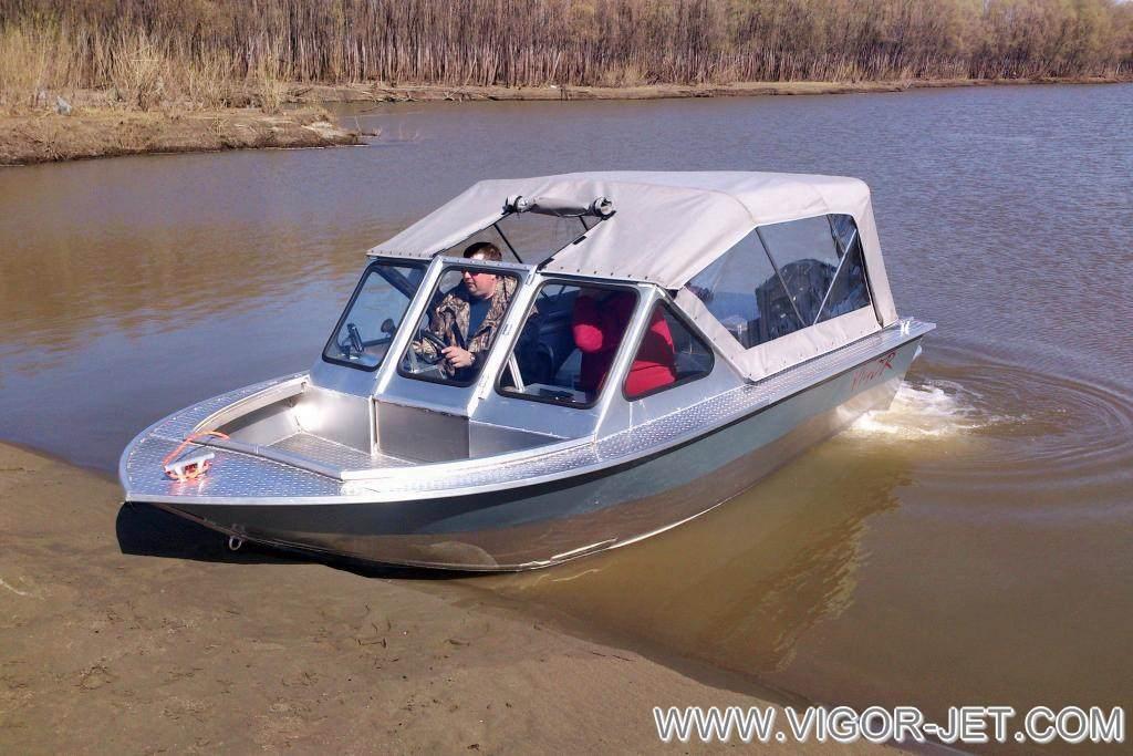 Цельнометаллический катер VIGOR 540 (A) Bow Rider профессиональной серии