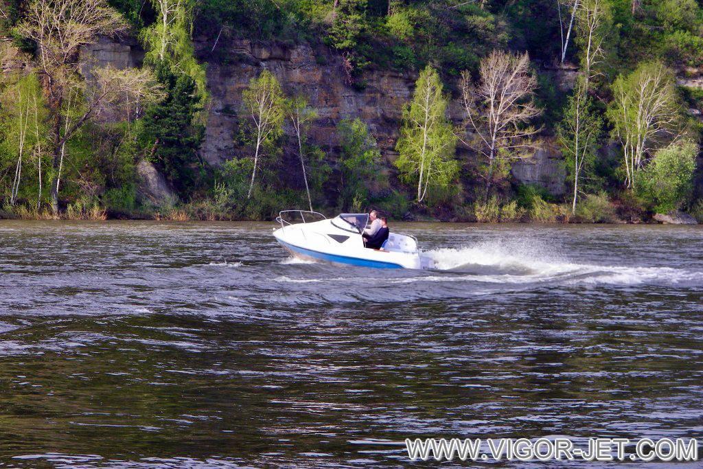 Испытания на реке Томь