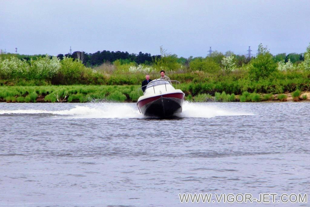 Испытания на Заливе Васильевский, реки Томь