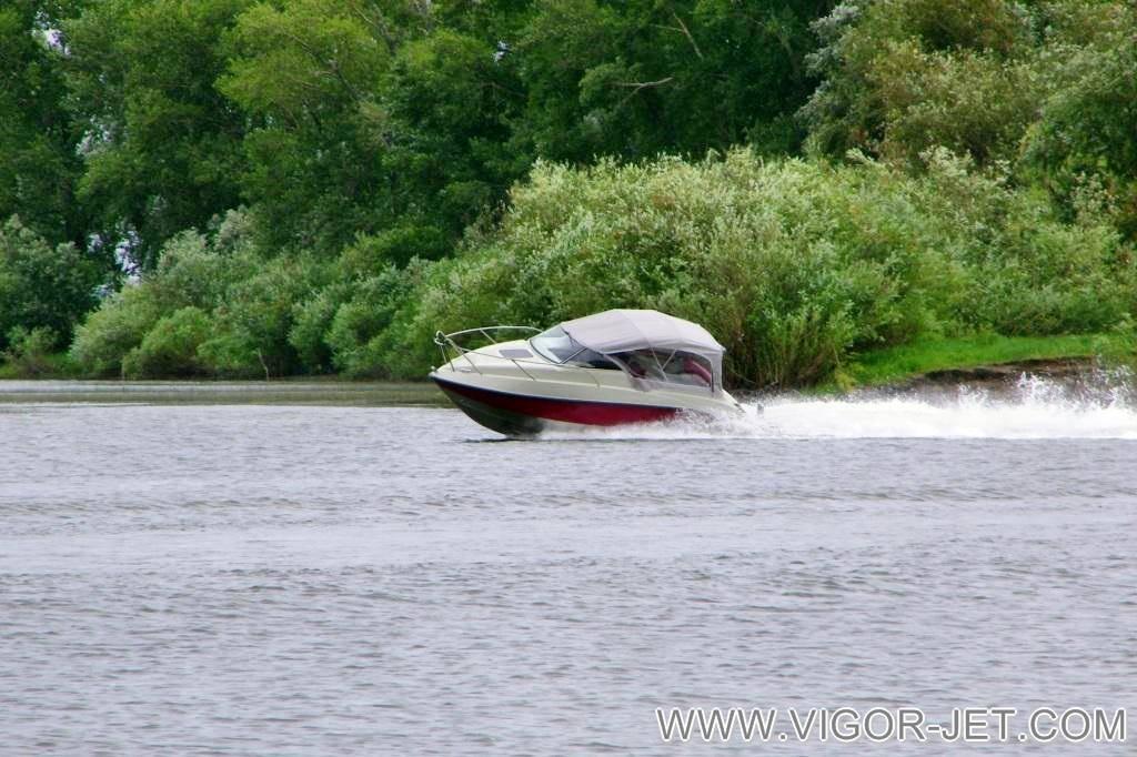 Испытания на реке Обь