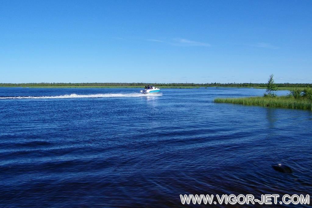 Испытания на Новоаганском озере