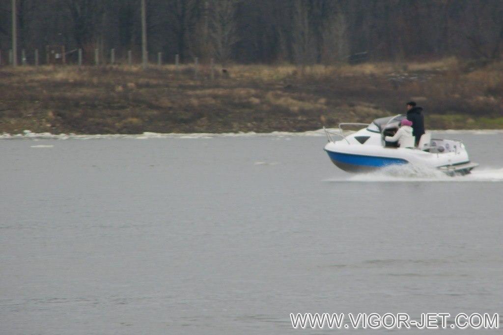 Испытания на реке Вятка