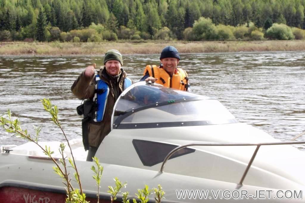 Испытания на реке Лена