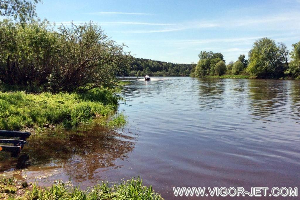 Испытания на реке Клязьме
