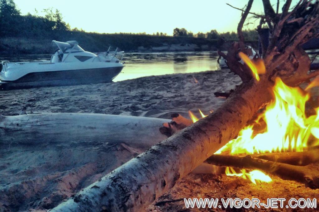 Ночлег на реке Чумыш