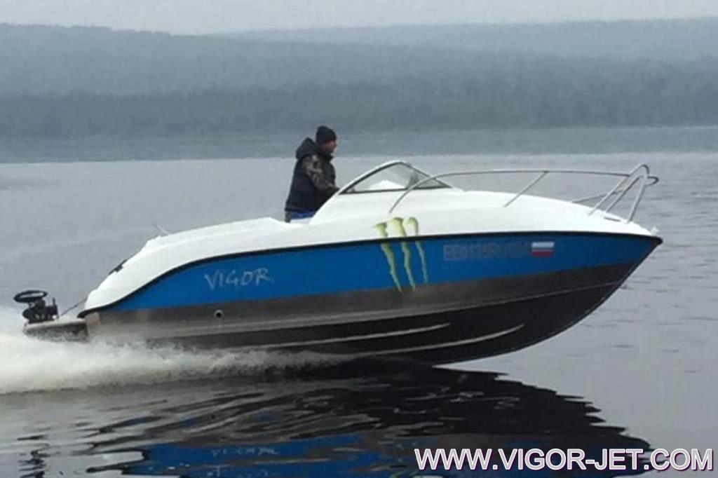 Катер VIGOR 620 (L) Walk Around в Иркутской области
